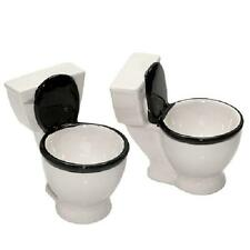 TOILET SHOT GLASSES Set of 2 Brand New Sealed Holds 1.5 oz each
