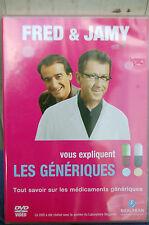 FRED ET JAMY VOUS EXPLIQUENT LES MEDICAMENTS GENERIQUES  DVD