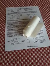 3 by 30 in. ROLL OF CUCKOO CLOCK RECOVERY PAPER MATERIAL FOR BELLOWS TOPS