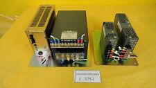 Nemic-Lambda Control Rack Power Supplies PDM-100 EWS300 EWS15-5 EWS50-24 Used