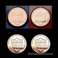 2014 P+D+S Lincoln Shield Penny Mint Proof Set ~ PD in Mint Wrap and Bank Roll