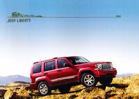 2008 Jeep Liberty Original Sales Brochure Book Catalog