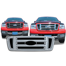 FREE SHIPPING: 2004-2008 Ford F150 Chrome Snap On Grille Overlay #18