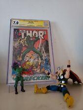 Thor #148 CGC Signature Series Joe Sinnott 1st Wrecker (Jan 1968, Marvel)