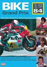 BIKE GRAND PRIX 1984 DVD. EDDIE LAWSON, MAMOLA. BIKE GP. 208 Mins. DUKE 4765NV