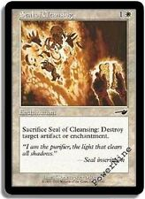 1 FOIL Seal of Cleansing - White Nemesis Mtg Magic Common 1x x1