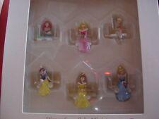Hallmark Ornament 2006 Disney Snowflake Miniatures 6 NIB Ornaments