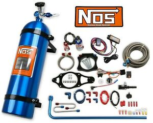 NOS 05219NOS Plate Wet Nitrous System w/ 15lb Bottle 2014-2019 C7 Corvette 6.2L