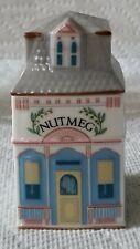 New listing 1989 Lenox Spice Village Fine Porcelain Nutmeg House Spice Jar Unused Nice