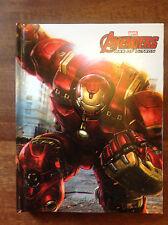 4 X Marvel Avengers Age of Ultron RILEGATO Foderato piccola A6 notebook/Pad NUOVO con confezione