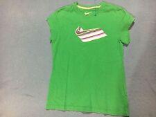 Nike Girl's Green & Purple Short Sleeve Shirt. Size Large.
