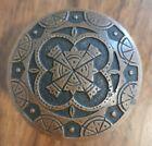 Antique Door Knob Nimick Maltese H - 23100 1883 Victorian Brass Bronze Rare