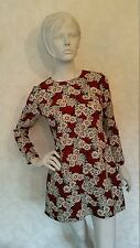 Zara Woman Floral Print designed Dress/Size:14
