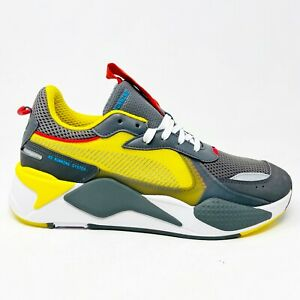 Puma Transformers Quiet Shade Cyber Yellow 370701 02 Mens Size 10.5