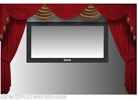 Saaria Velvet Curtains Movie Screen Home Theater 12'W X 8'H Stage Events Hall