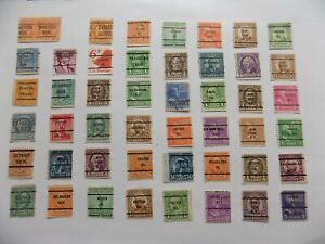 U S   Collection of all used PRECANCEL DEFINITIVES -7-29-J-We combine shipping