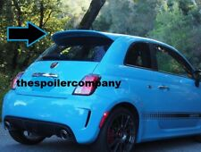 """UN-PAINTED """"ABARTH-STYLE"""" REAR SPOILER FOR 2012-2017 FIAT 500 - LARGER THAN POP"""
