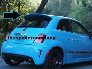 "UN-PAINTED ""ABARTH-STYLE"" REAR SPOILER FOR 2012-2017 FIAT 500 - LARGER THAN POP"