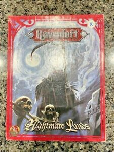 Dungeons and Dragons: Ravenloft: The Nightmare Lands (Box Set, 1995, TSR)