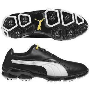 Puma Titan Tour Golf Shoes Black/White NEW 6676