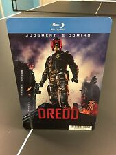 "Movie Backer Card ""Dredd"" Bluray (Not the Movie) *Mini Poster*"