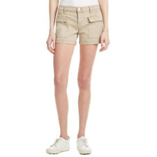 NEW Womens Stunning J Brand KAI Mid-Rise Utility Beige Cargo Shorts AU 12 W30