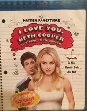 I Love You, Beth Cooper (Blu-ray Disc, 2009, Canadian)
