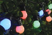LYYT 155.681 LED MultiColour 10 light linkable Festoon outdoor BBQ & Party