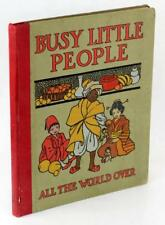 Busy Little People All The World Over Walter Cool Alice M Cook Hardcover