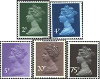 Großbritannien 825-829 (kompl.Ausg.) postfrisch 1980 Königin Elisabeth II.