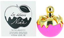 Les Delices De Nina L.Ed. by Nina Ricci For Women EDT Perfume Spray 2.5oz Tester