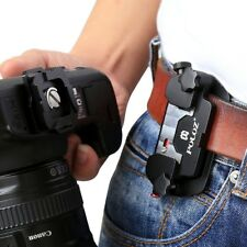 Alloy Quick Release Camera Waist Belt Strap Mount Clip DSLR Canon Nikon Camera