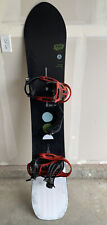 Used 161 Burton SpeedDate Snowboard with Medium Bindings