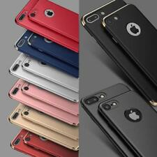 Luxury Ultra Slim Shockproof Bumper Case Cover for Apple iPhone X 8 7 6s Plus iPhone 5 5s Blue