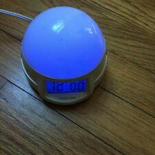 Timelink Color Changing Night Light & Alarm Clock
