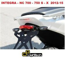 Kit Porta Targa Regolabile per Honda NC 700 X e S Integra LIGHTECH + Fanale post