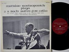 ROSTROPOVICH Bach Cello Suites No. 3 & 5 RECITAL IGI-320 LP NM