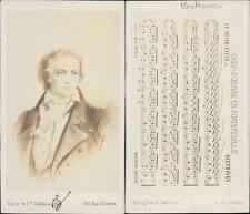 Tantet & Cie, Paris, Ludwig van Beethoven, compositeur de musique allemand, circ