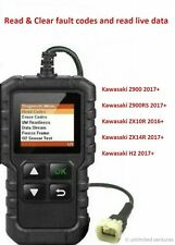 Fault code scanner diagnostic OBD2 tool for Kawasaki Z900 Z900RS ZX10R ZX14R H2