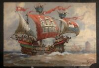 1913 Hannover Germany Picture Postcard Cover to Hamburg old hanseatic warship