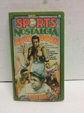 Sports Nostalgia Quiz Book Hollander, Zander, Schultz Mass Market Paperback Use