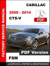 2009 - 2014 CADILLAC CTSV CTS-V 6.2L ENGINE SERVICE REPAIR MAINTENANCE MANUAL