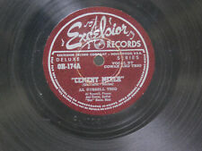 Al Russell Trio 78 Cement Mixer bw I Must Forget About You on Excelsior jazz