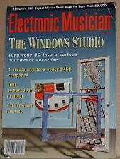 The Windows PC Studio,Yamaha O2R Mixer~July 1996 Electronic Musician Magazine