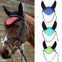 Breathable Horse Ear Cover Bonnet Net Ear Masks Protector Equestrian Accessories