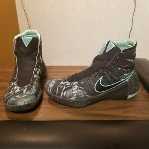 Nike Hyperdunk 2015 Prem Green Glow Basketball 749567 030 Size 9
