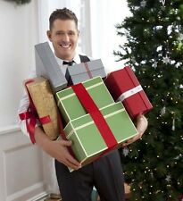 Michael Buble UNSIGNED photo - D1195 - With Chritmas presents!!!
