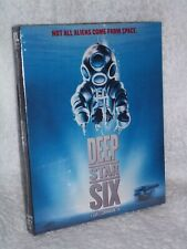 Deep Star 6 Six [1989] (Blu-ray, 2020) NEW SLIPCOVER Greg Evigan Nancy Everhard
