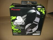 *USED* Pioneer 808 STEEZ Stereo Headphones + In-Line Mic -iPod Touch/Nano/iPhone