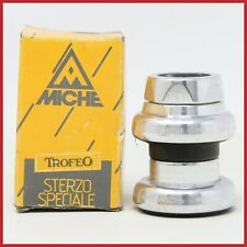 "NOS MICHE TROFEO HEADSET 1"" INCH THREADED VINTAGE 80s ROAD RACING NIB ALLOYA 90s"